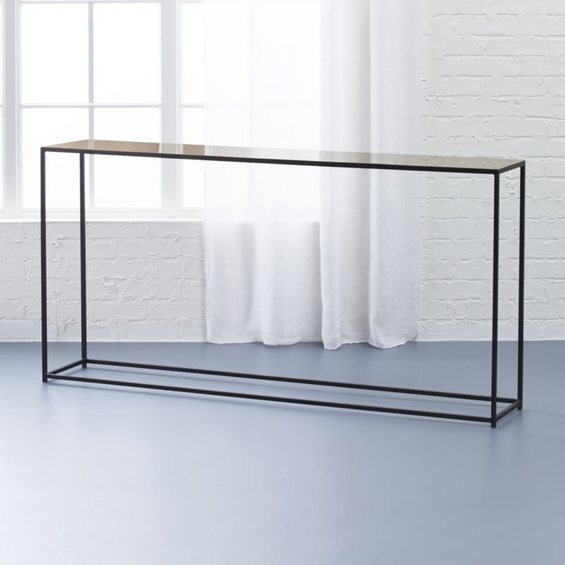 Give Your Space A Functional Stylish Edge Explore Our Complete - Cb2 sofa table