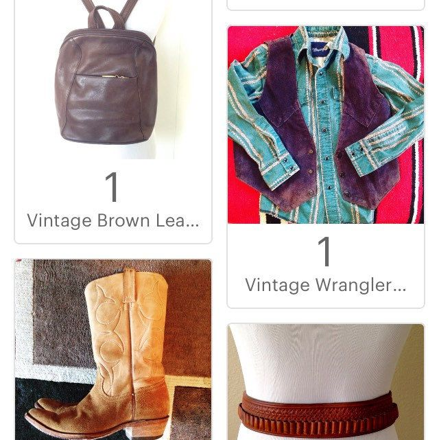 #vintage #leather #backpack ? In perfect condition... Come shop