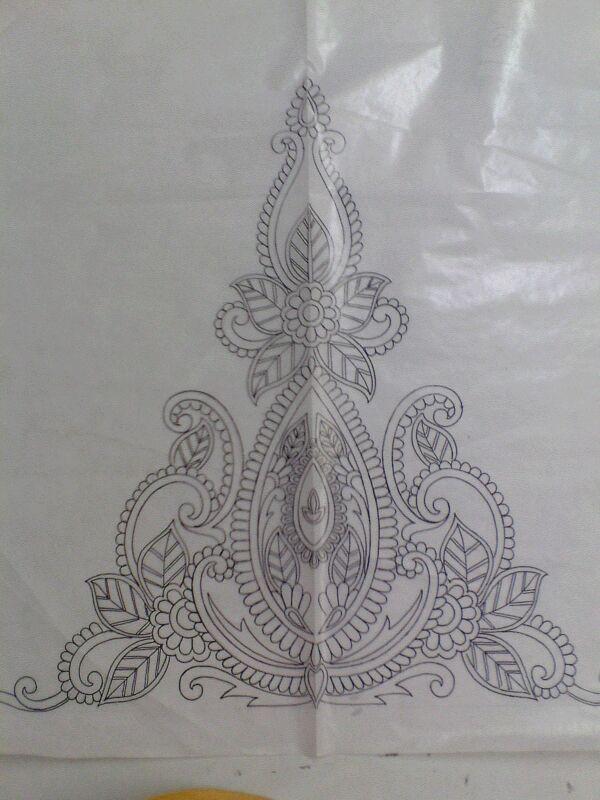 Motifs Fashion Designing Artwork Pinterest Embroidery