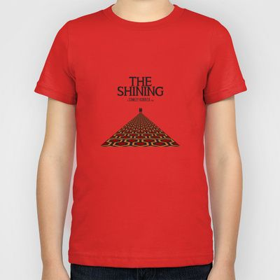 """The Shining"" Stephen King/Jack Nicholson Film Inspired Vintage Movie Poster Kids T-Shirt by ChocolateLimeDesign - $20.00. The shining vintage movie poster t-shirt. Men's t-shirt."