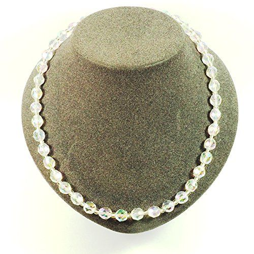 streitstones exklusive Kette mit facettierten Glasperlen in kristall AB - bis zu 50 % Rabatt streitstones http://www.amazon.de/dp/B00T6RWT9S/ref=cm_sw_r_pi_dp_L1X6ub1PTC013, streitstones, Halskette, Halsketten, Kette, Ketten, neclace, bling, silver, gold, silber, Schmuck, jewelry, swarovski, fashion, accessoires, glas, glass, beads, rhinestones