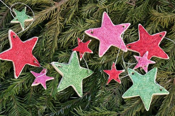 Salt Dough Ornament DIY & Contest! #saltdoughrecipe
