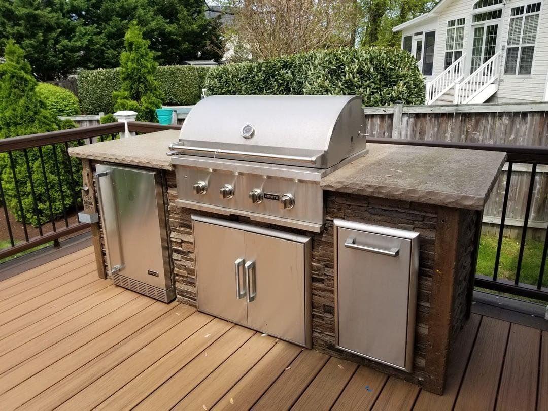 Home Coyote Outdoor Living Luxury Outdoor Kitchen Outdoor Kitchen Outdoor Cooking