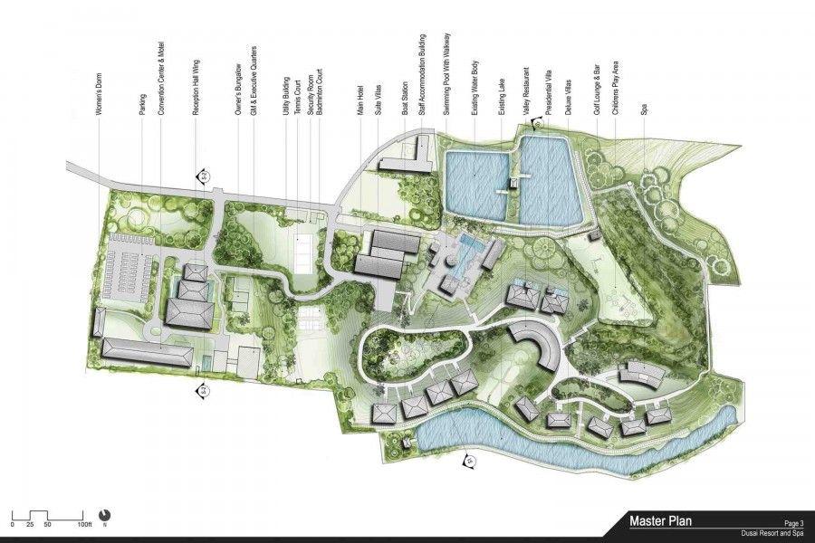 Dusai Resort Spa Sylhet Resort Plan Master Plan Spa Design