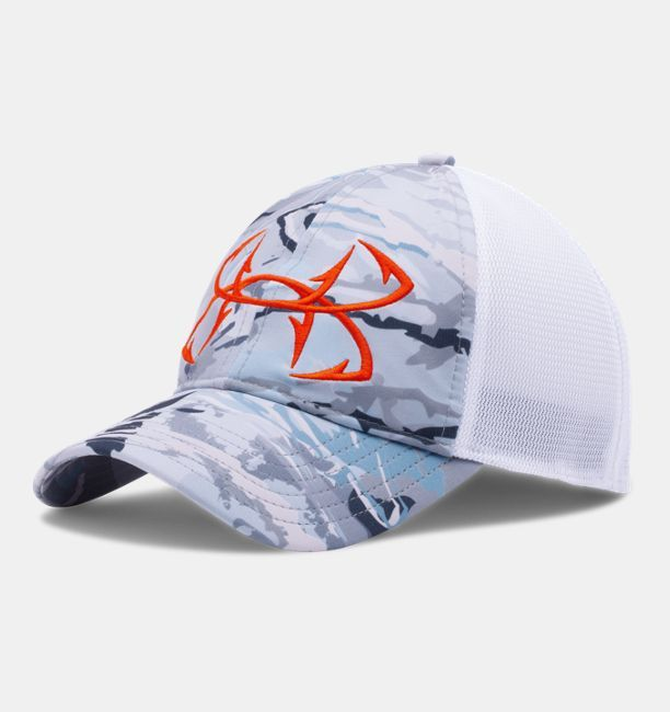 e2f42cafea3 Men s UA Fish Hook Camo Adjustable Cap
