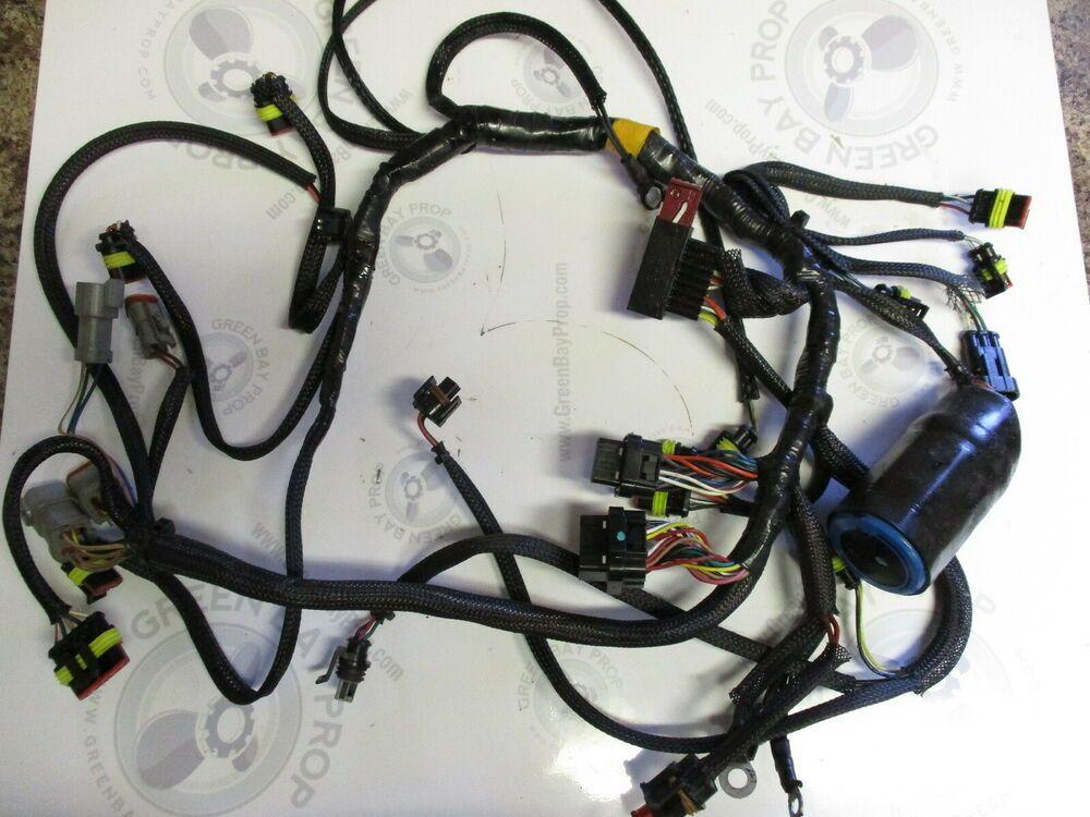 evinrude wire harness 0586764 evinrude johnson 75 90 hp outboard engine wire harness  hp outboard engine wire harness