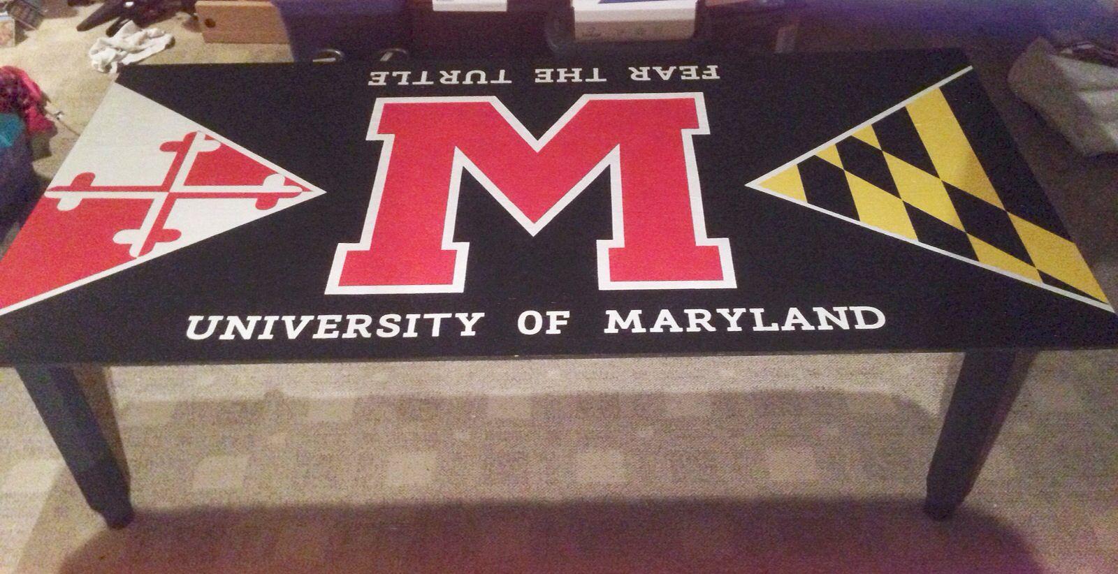 University Of Maryland Pong Table University Of Maryland Sorority Crafts Crafty