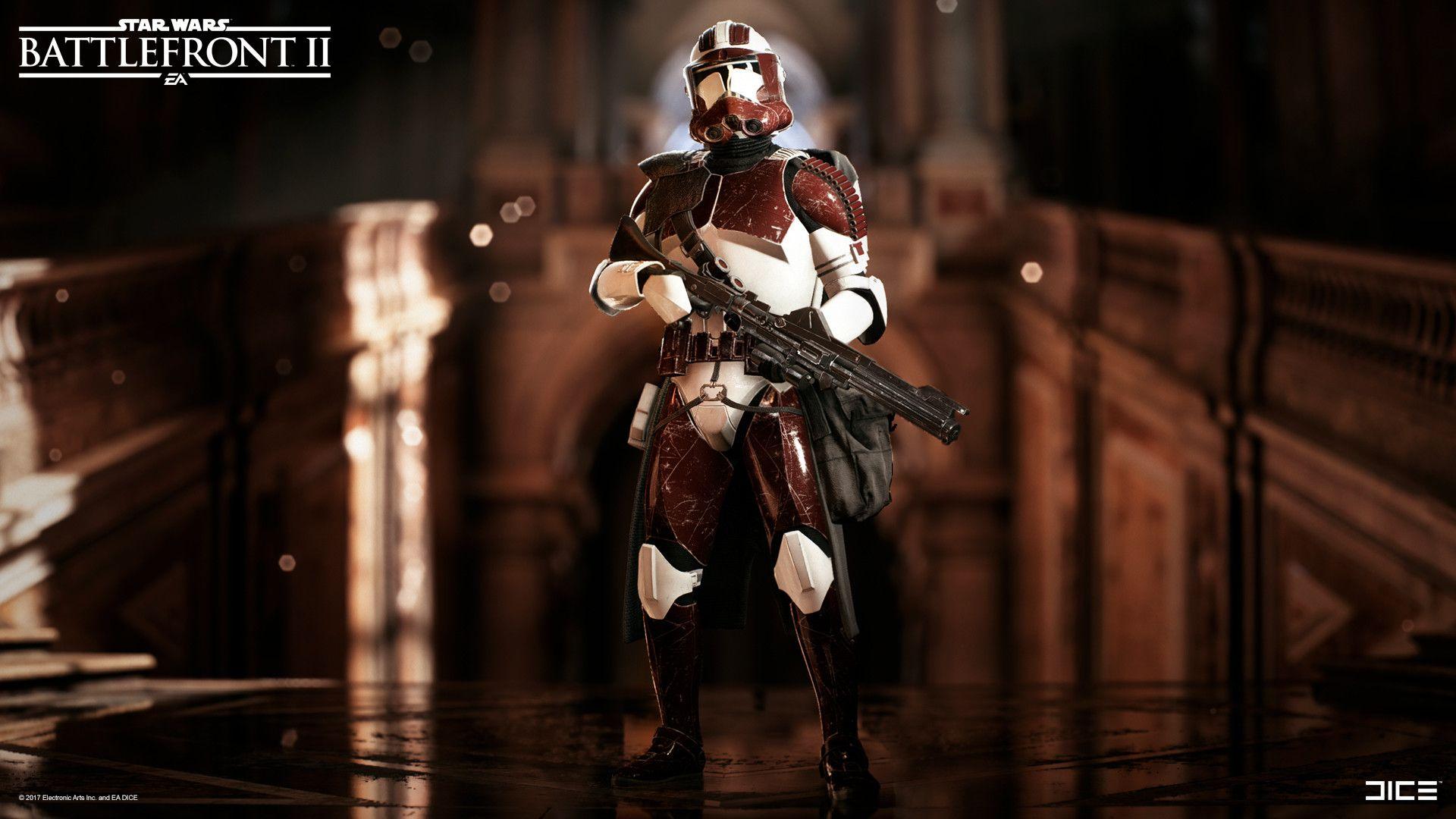 artstation star wars battlefront 2 clone trooper heavy class