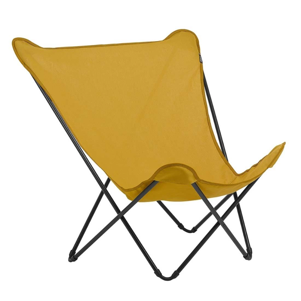 Lafuma Pop Up Xl Design Sessel Stahl Airlon Schwarz Curry Pop Up Gartenstuhle Liegestuhl