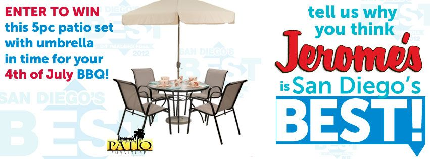 Tell Us Why Jeromeu0027s Is San Diegou0027s Best Furniture Store And You Could WIN  This New