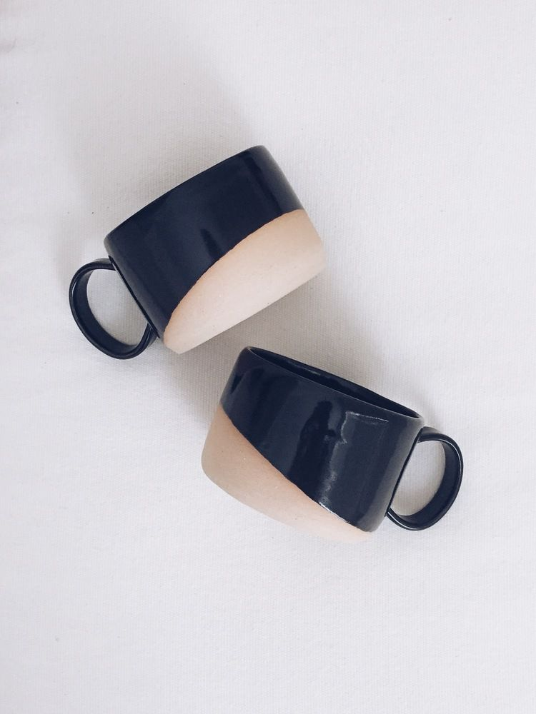 Absolutely love these shallow mugs!  Arrow + Sage