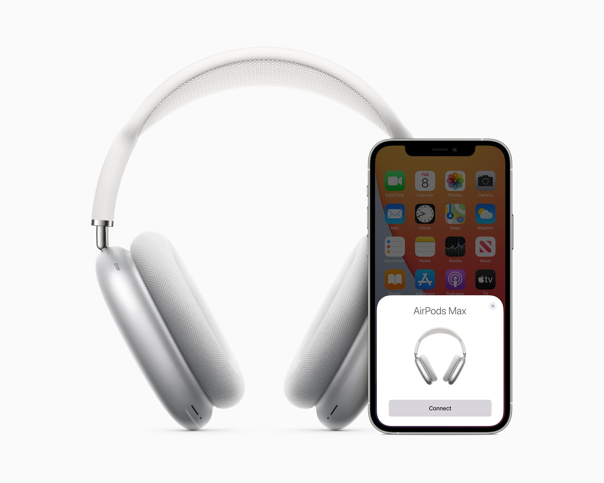 Apple Introduces Airpods Max The Magic Of Airpods In A Stunning Over Ear Design Spatial Audio Noise Cancelling In Ear Headphones