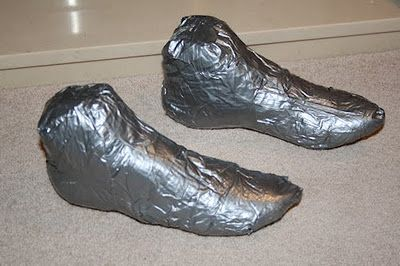 Helena Callum: Shoe last for felted