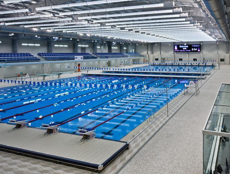 Olympic Swimming Pool Lighting Design Sekolah Desain
