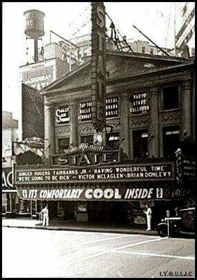 Jersey City history: State Theater 1938 | Jersey City in 2019