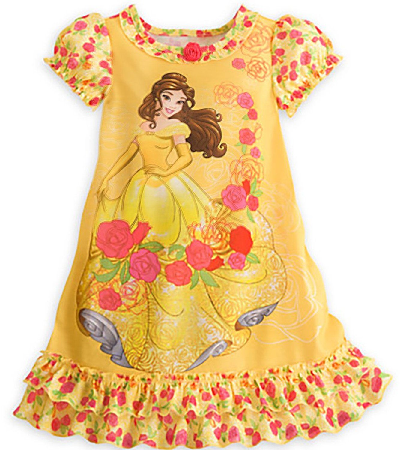 Disney Girls Beauty and The Beast Belle Nightgown