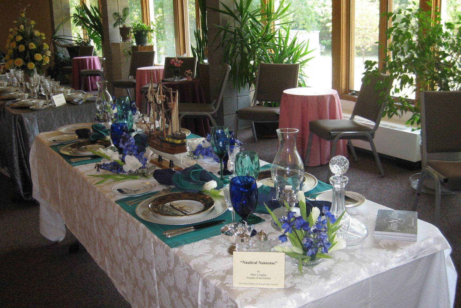 Ever Green GC, Springfield, MO | Garden club, Green, Table ...