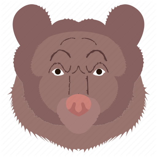 Animal Bear Face Zoo Icon Download On Iconfinder Animal Icon Icon Animals