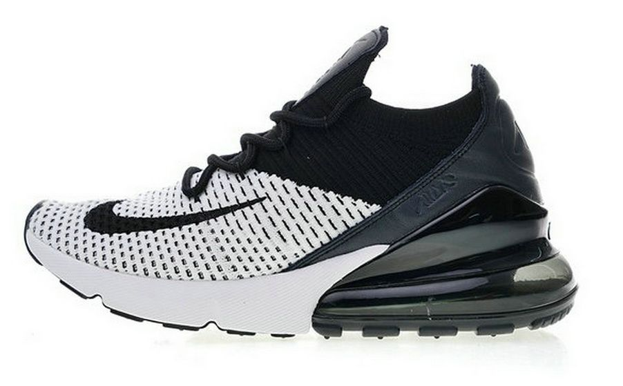 Nike Air Max 270 Flyknit White Black Ao1023 100 | Nike air