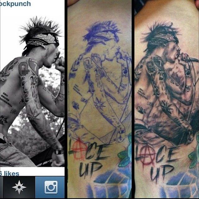 machine gun kelly tattoos - photo #8