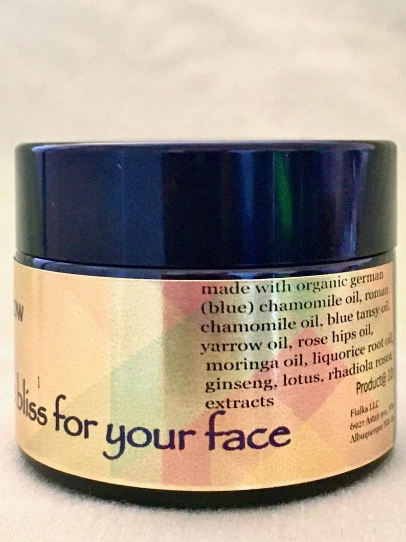 Healthy glow hydrating chamomile bliss for your face in