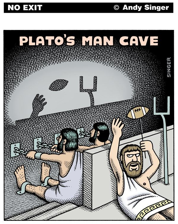 plato s myth cave In this myth, plato describes a scene in which men, imprisoned since birth, are chained around their neck and legs - plato's myth of the cave introduction as a result, they can only look to the back wall of the cave and cannot escape.