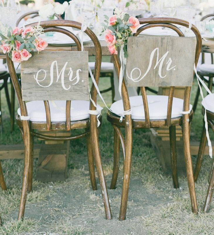 Stuhl Deko Hochzeit traustühle im vintage stil ideen zur hochzeit shakiba marcel
