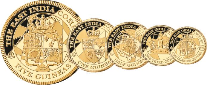 On 22nd June 2016, 200 years to the very day that the Guinea was officially replaced by the Sovereign with the introduction of the 1816 Great Re-coinage Act, The East India Company will release for sale a series of five #gold #Guineas in commemoration of the gold #coin that built Empires, won wars and served Britain for over 150 years.