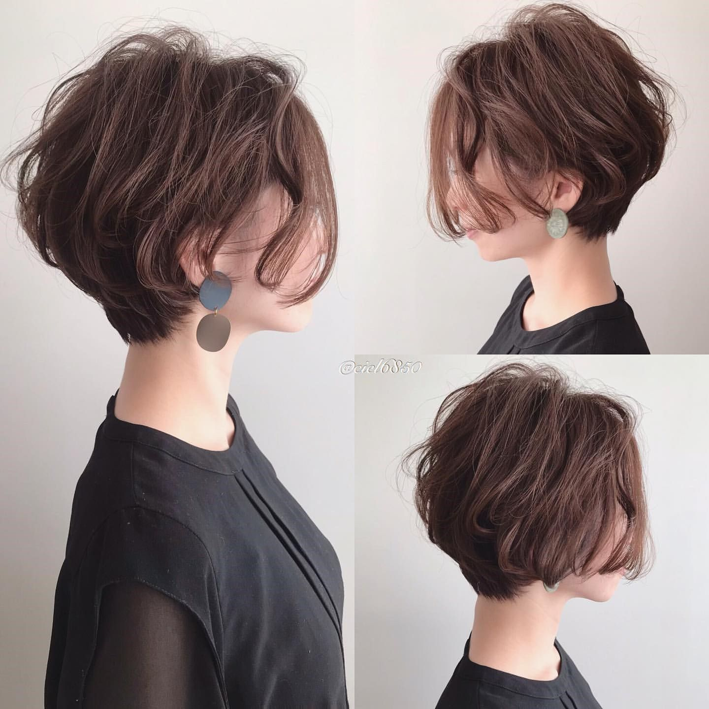 65 Best Messy Short Hairstyles Japanese Page 9 Of 13 Thick Hair Styles Short Hairstyles For Thick Hair Short Hair Styles