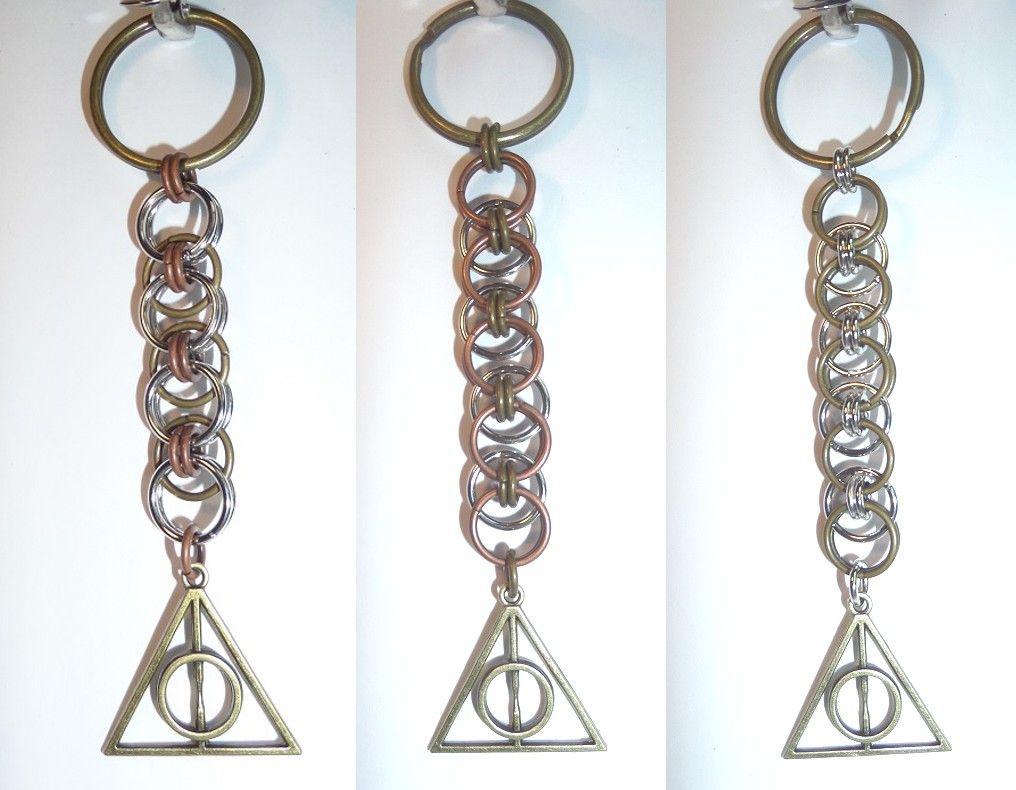Deathly Hallows-inspired keychain - Set 3