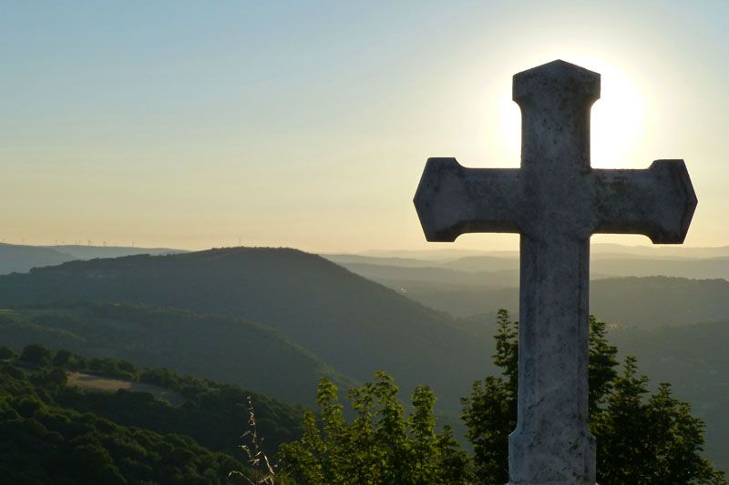 Vistas de la Ribeira Sacra desde Castro Caldelas