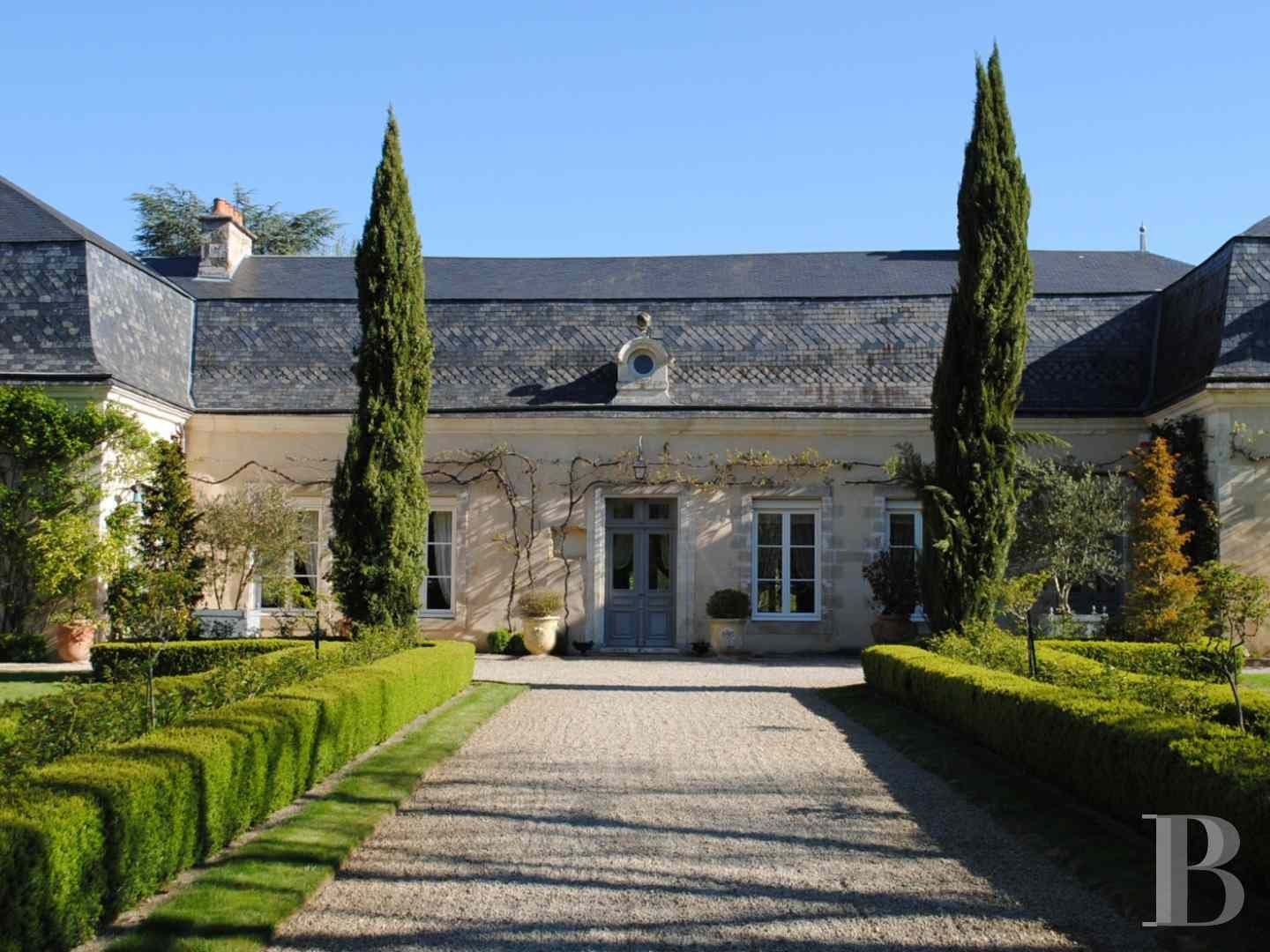 A 17th & 19th century manor house and its superb garden with almost 20 ha of land in a wood on the edge of Poitiers - chateaux for sale France - in South-West, Perigord, Dordogne, Quercy, Limousin - Patrice Besse Castles and Mansions of France is a Paris based real-estate agency specialised in the sale of Castles / chateaux.