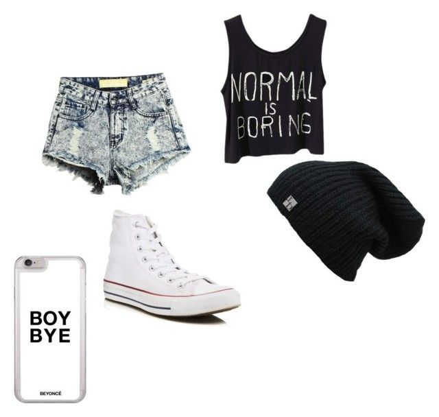 """Going out with friends"" by danandphillover on Polyvore featuring Converse"