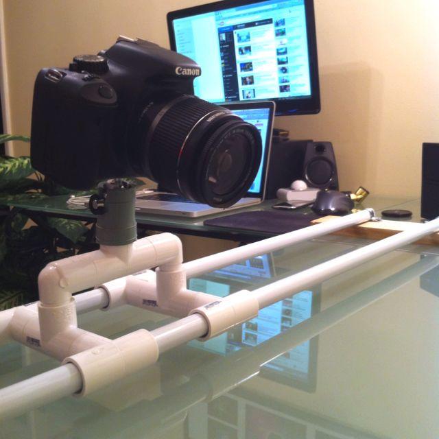 Another Pic Of My Homemade Camera Slider Diy Camera Slider