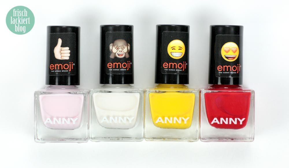 Die mini emojis sind los! Die neue Kollektion von ANNY – frischlackiert.de – Mein Nagellack-Blog