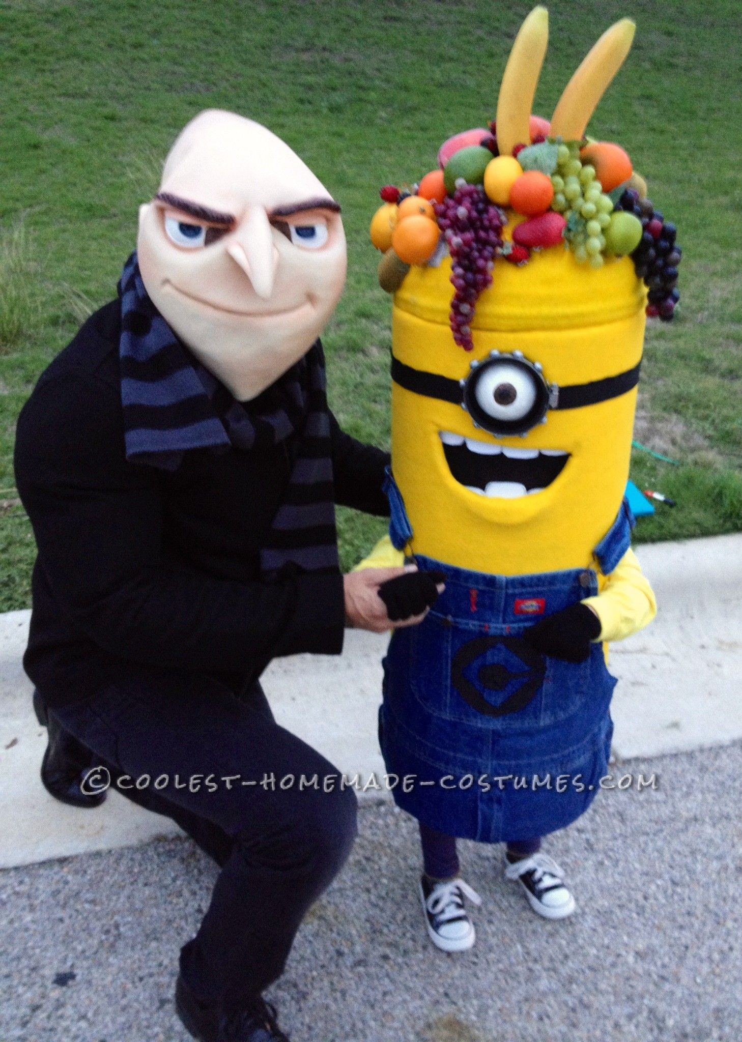 Coolest Carl the Minion Costume for a Toddler... This website is the Pinterest of costumes  sc 1 st  Pinterest & Coolest Carl the Minion Costume for a Toddler | Pinterest | Costumes ...