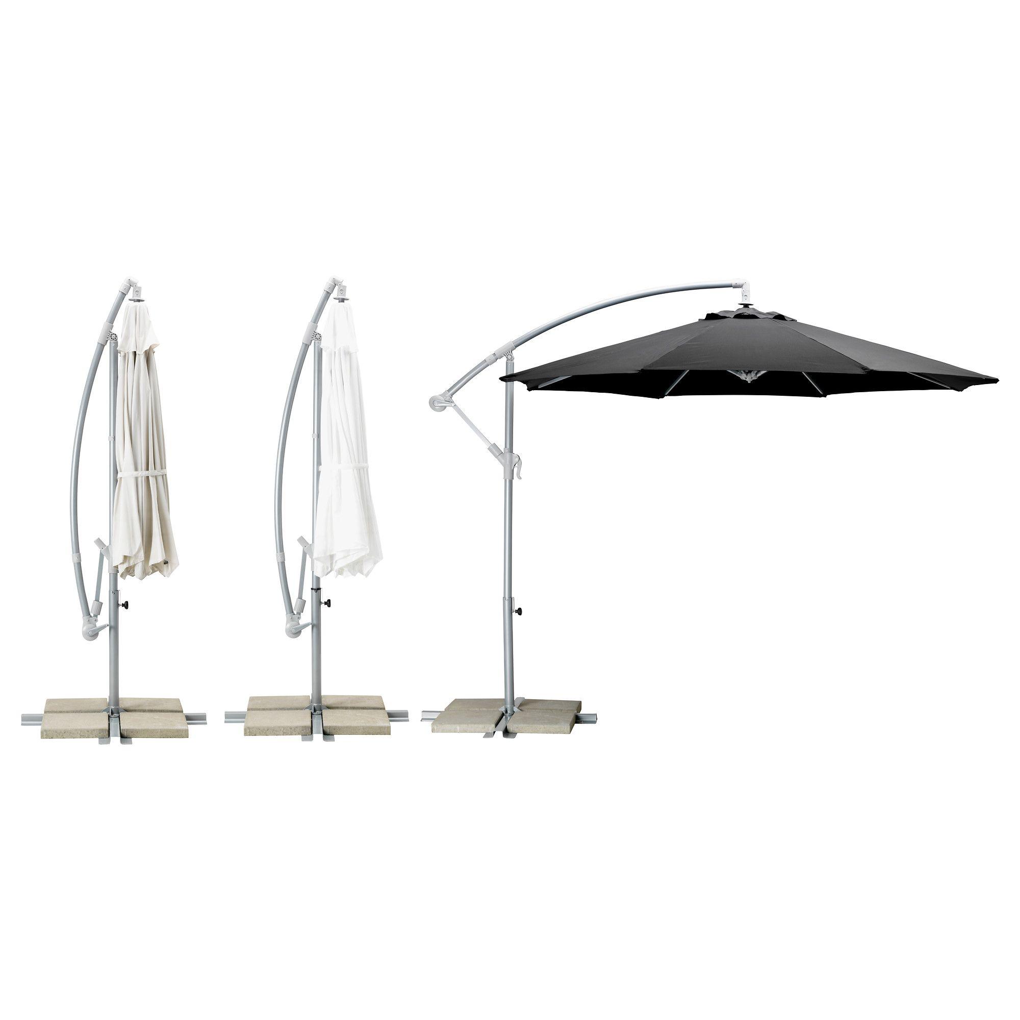 karls parasol d port ikea parasol en attendant pergola pinterest terrasses et ext rieur. Black Bedroom Furniture Sets. Home Design Ideas