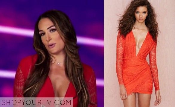 Wwe total divas season 3 episode 15 nikki 39 s red dress tv show fashion style and clothes - Fashion diva tv ...
