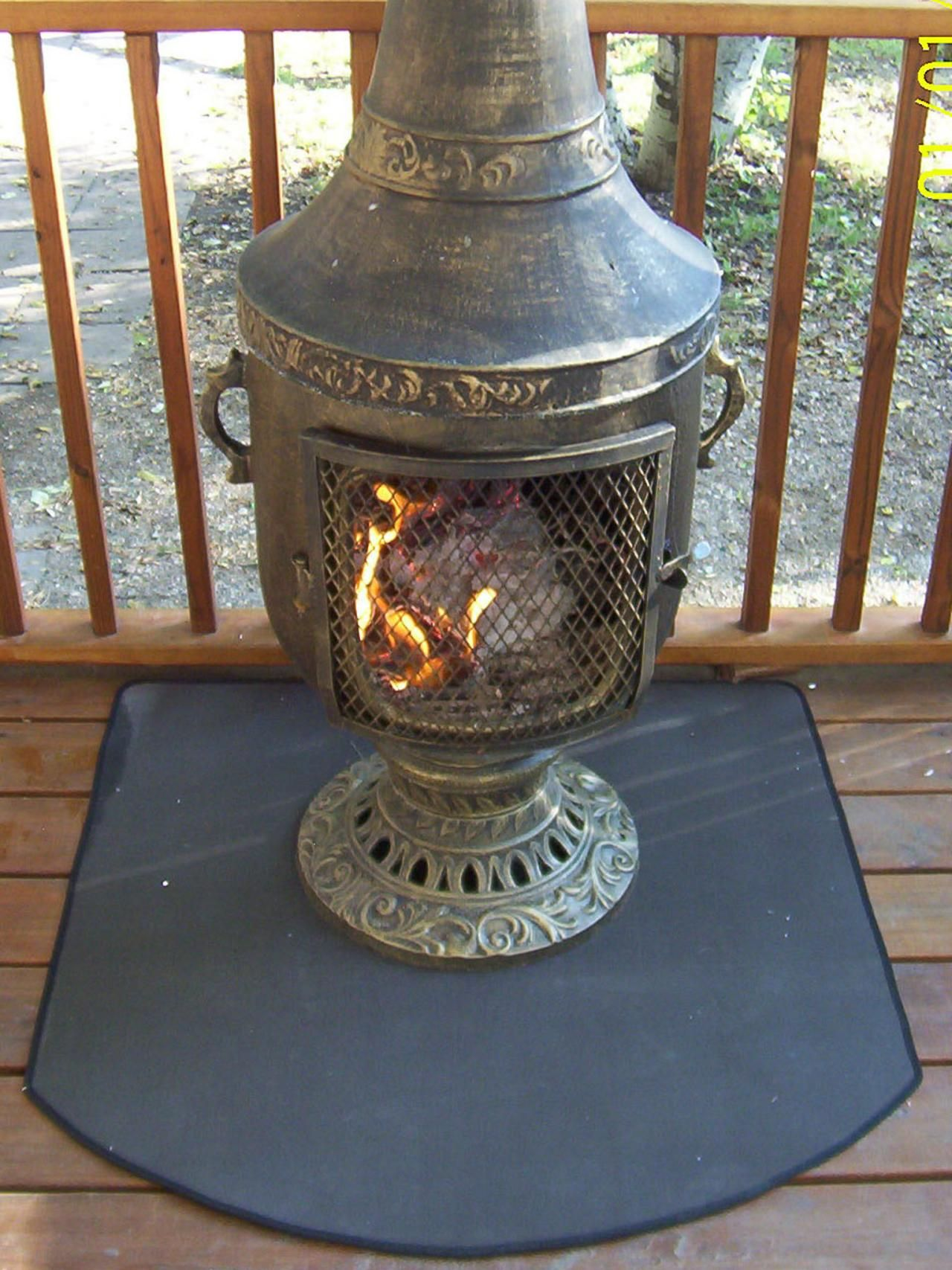 if your outdoor fireplace is a chiminea and you need to protect