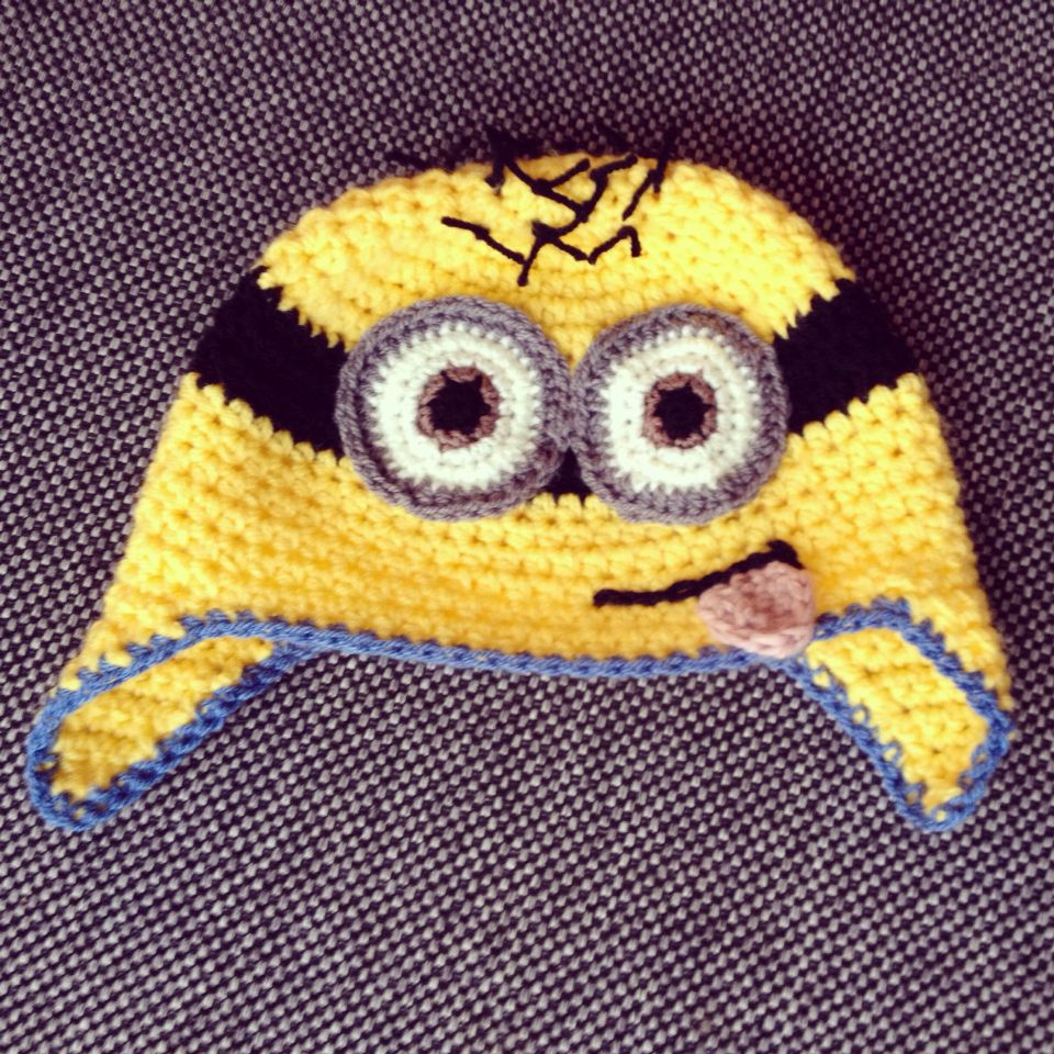 Crochet Minion beanie By Caroline van der Vegt Follow me on Instagram @in old pink