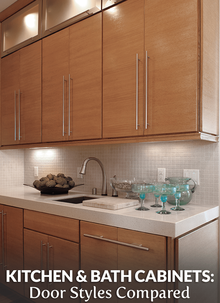 The Cabinet Door Styles Compared Builders Surplus Unfinished Kitchen Cabinets Cabinet Door Styles Frameless Kitchen Cabinets