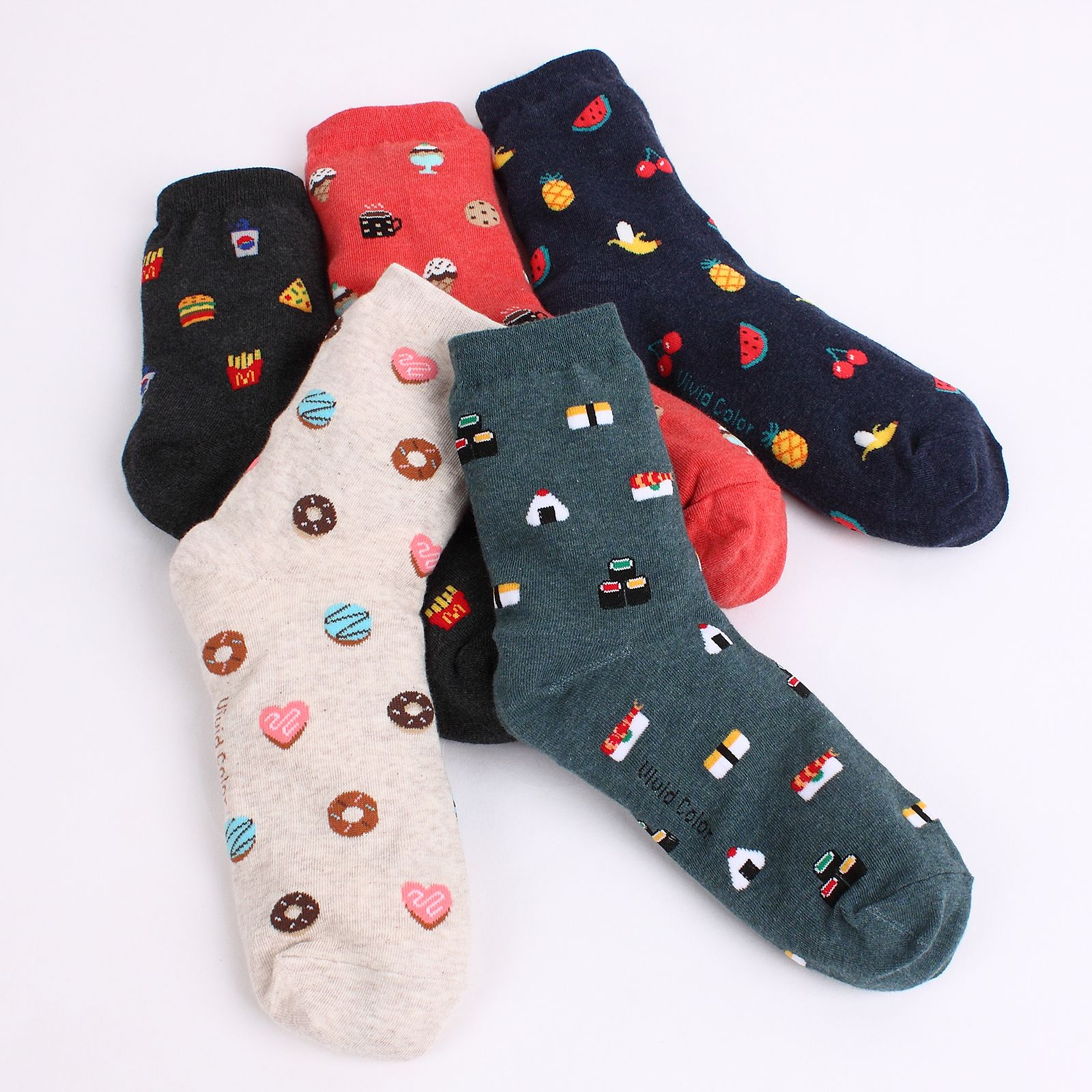Cute Unisex Funny Casual Crew Socks Athletic Socks For Boys Girls Kids Teenagers