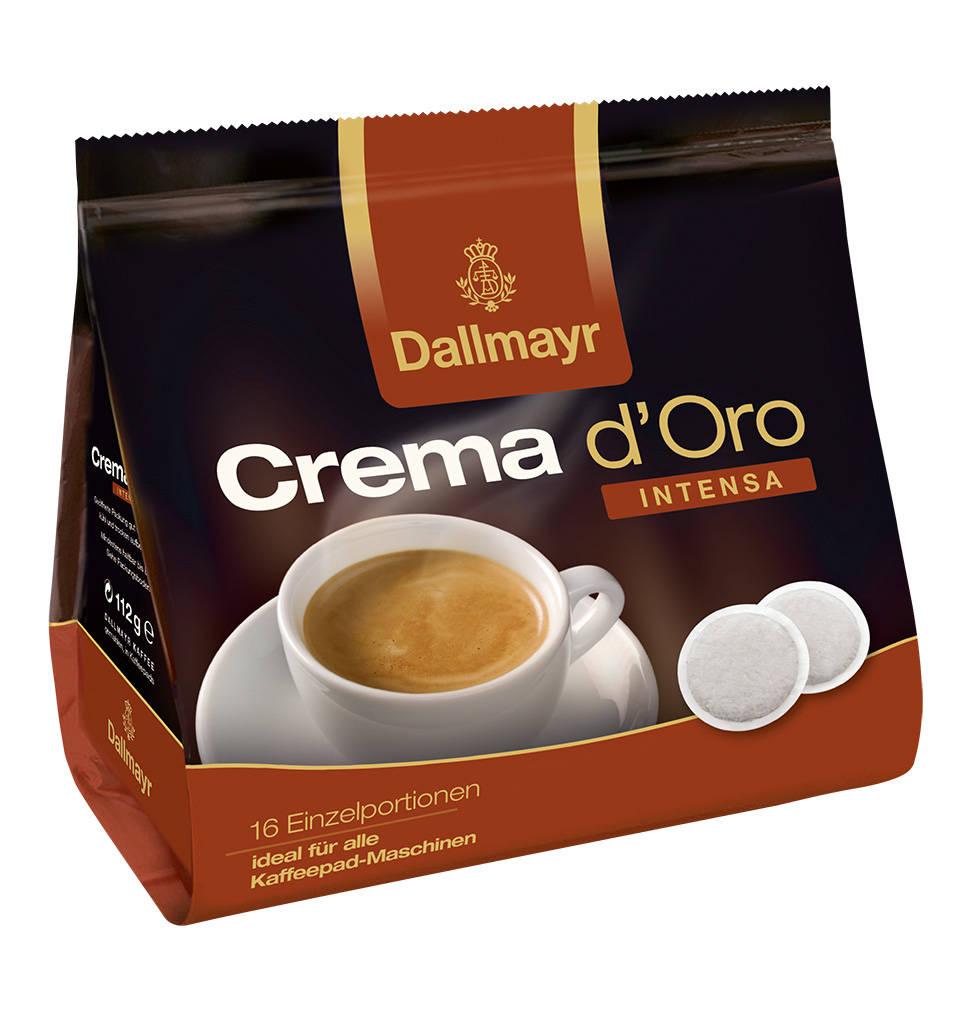 16er Pads Crema D Oro Intensa 112g Kaffee Crema Kaffeepads Und Kaffeesorten