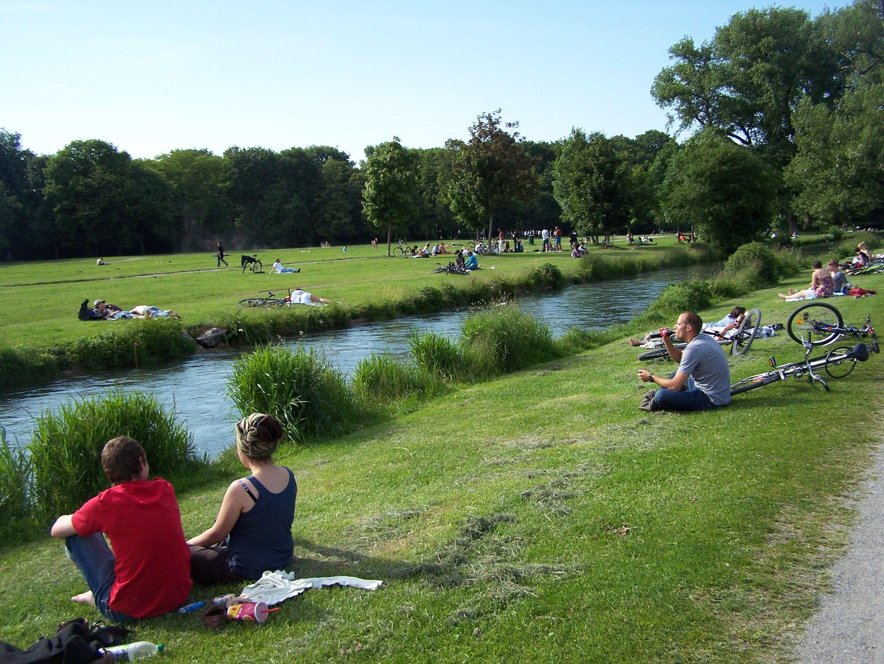 Chillen Im Englischen Garten By Www Pa Munich Com Germany City Munich