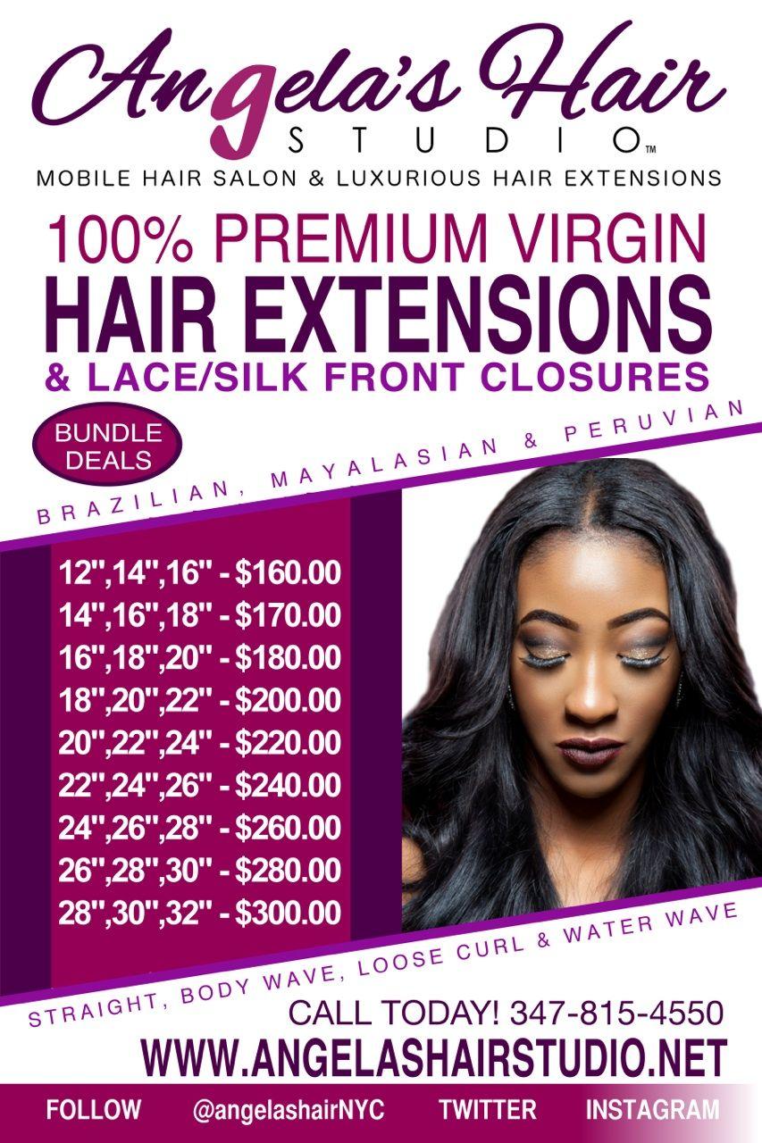 Angelashairstudio Bundle Deal Price List Angelas Hair Studio