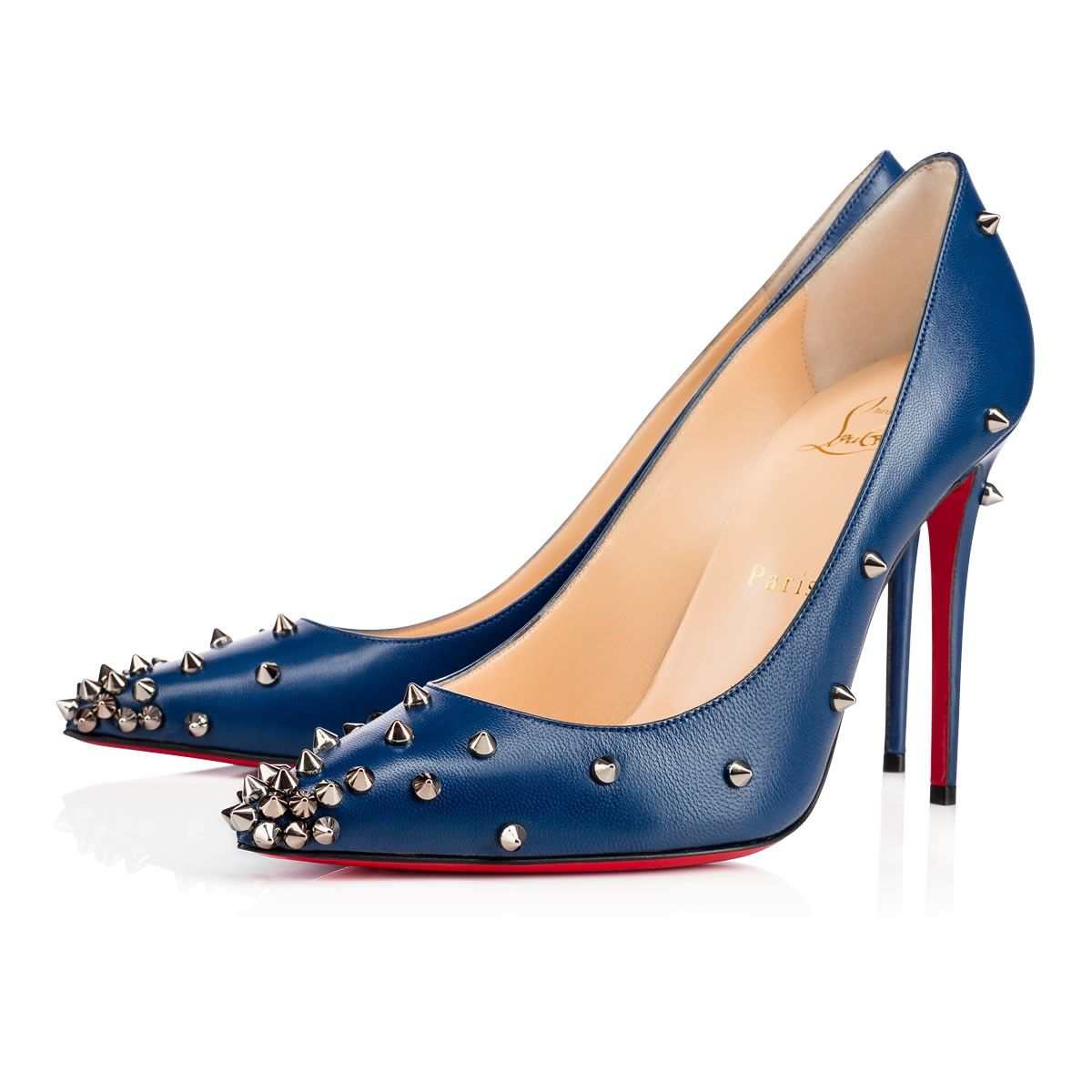 be48c9e9db09 CHRISTIAN LOUBOUTIN Degraspike 100Mm Espadon Leather.  christianlouboutin   shoes