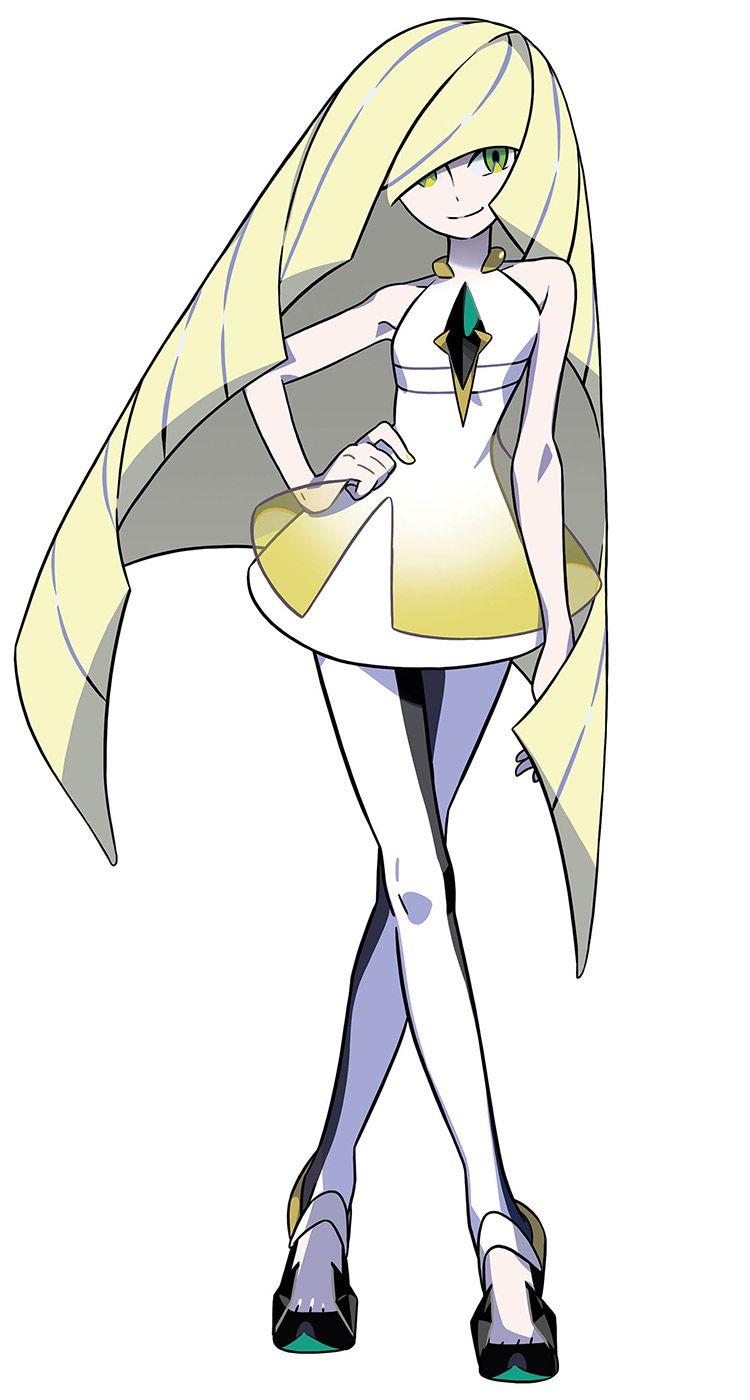 lusamine from pokémon sun and moon | 03.character_stylish