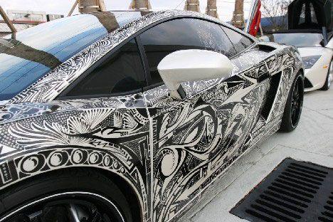 15 Examples Of Awesome Automotive Art | WebUrbanist | Art ...