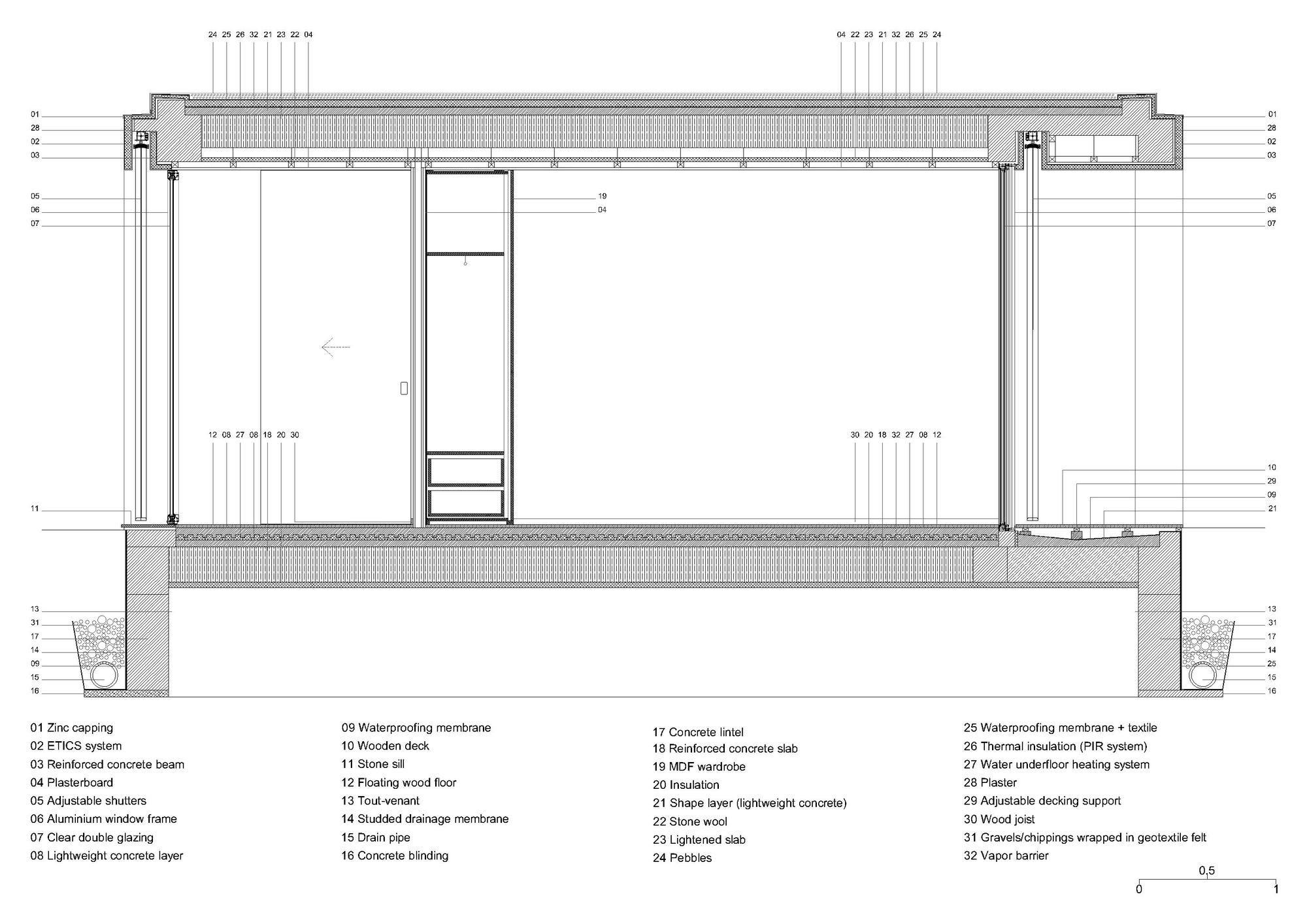 Gallery Of Rio Mau House Raulino Silva 38 House Ground Floor Plan Architecture Details