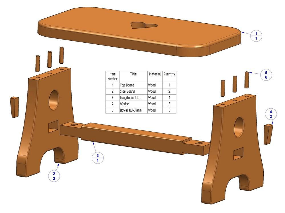 Easy Wood Step Stool Plans Projects And